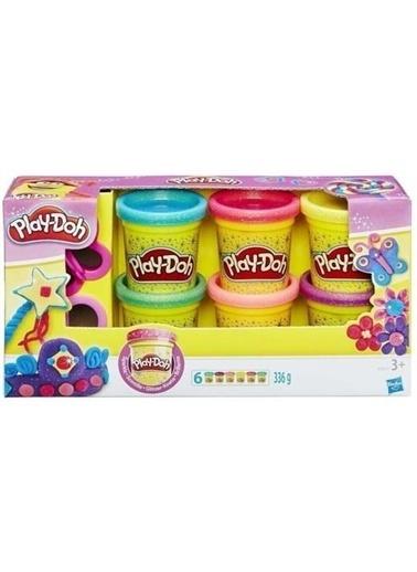 Play-Doh  Işıltılı Hamur A5417 Renkli